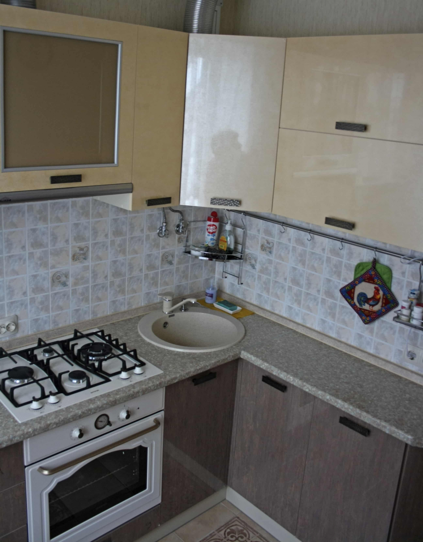 Кухня угловая в хрущевку