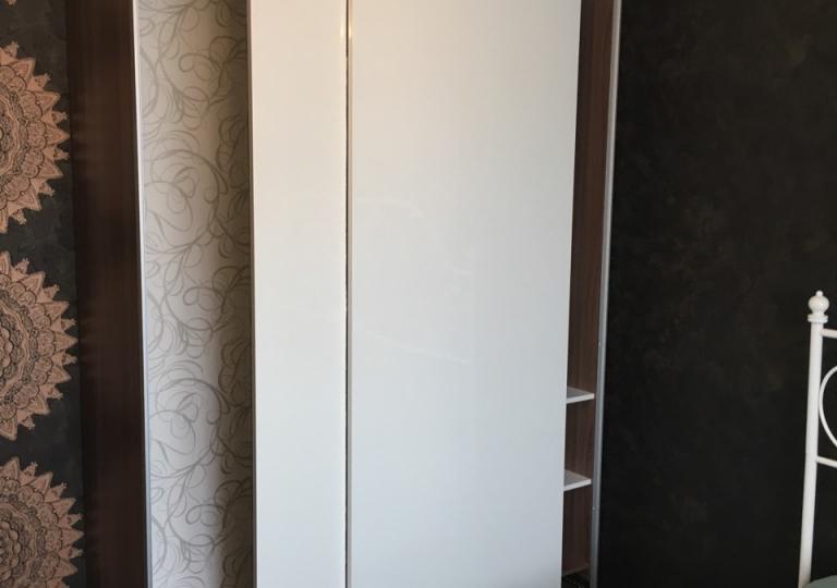 Шкаф-купе система дверей Икеа