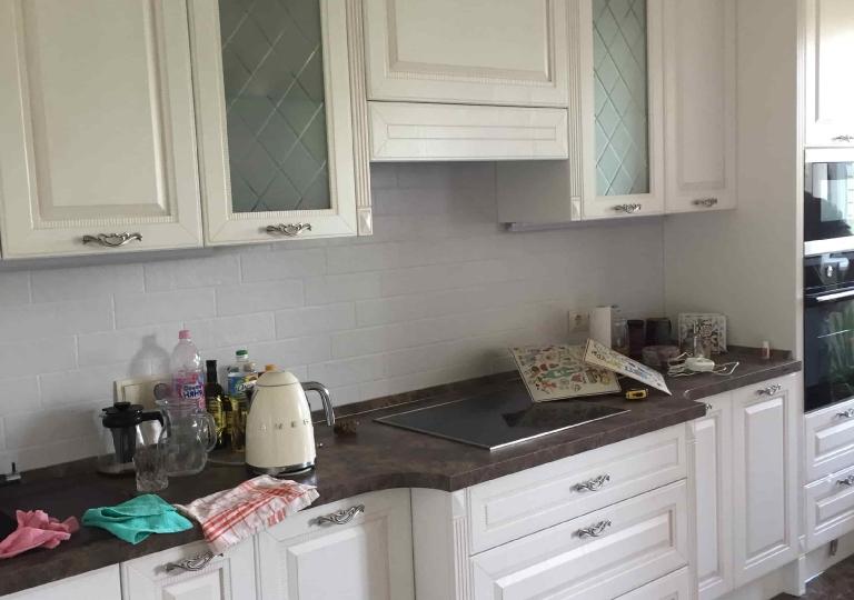 Кухня классика белая 920 верх