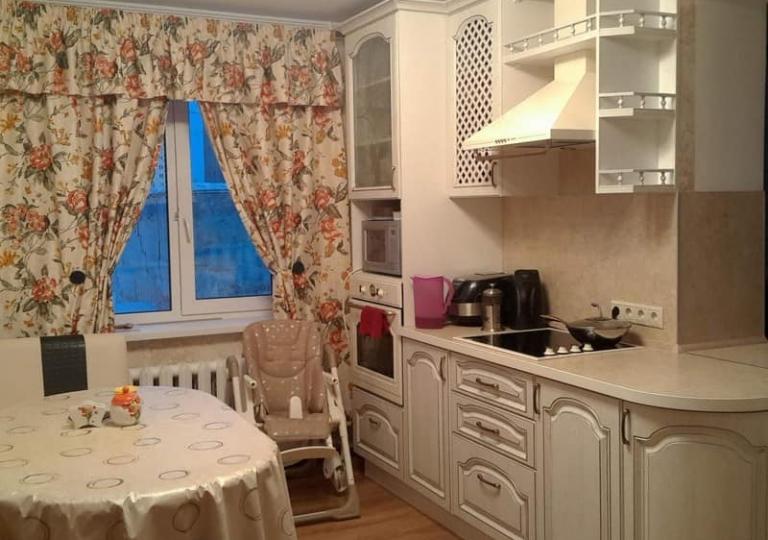 Кухня патина с наружним углом