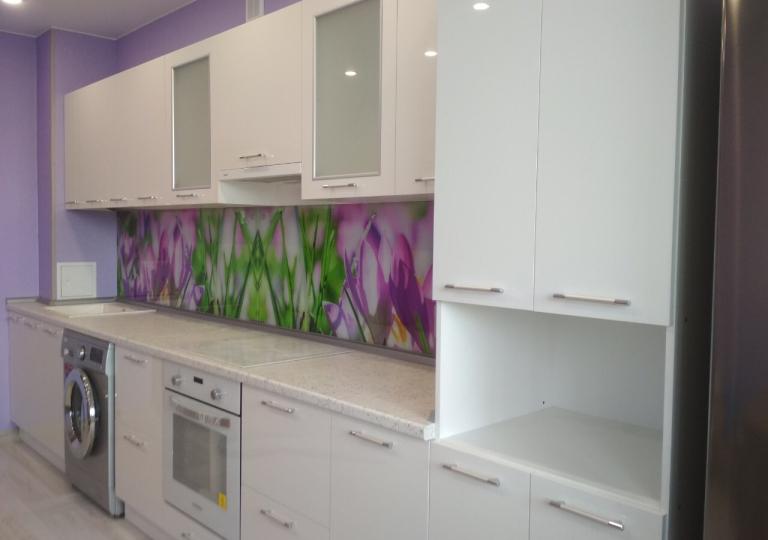 Кухня фасады акрил с фотопечатью