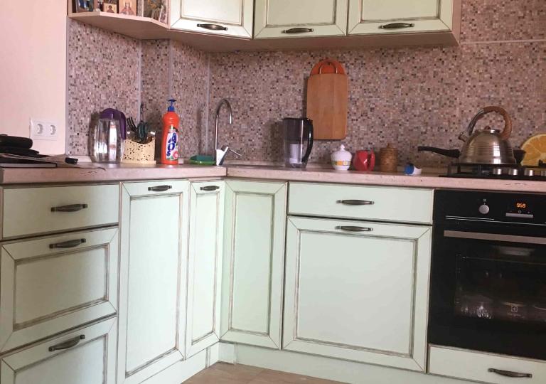 Кухня МДФ с крашенными фасадами